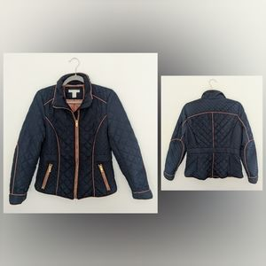 H&M   Blue Quilted Jacket   10